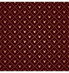 Reindeer pattern vector