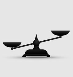 scales symbol icon vector image
