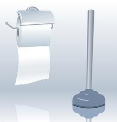 Toilet roll vector