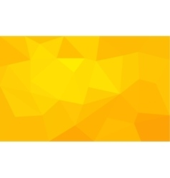 Yellow triangle structure abstract background vector image