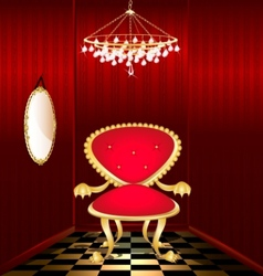 mystery chair vector image vector image