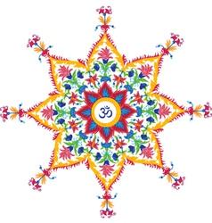 Beautiful Aum Design vector image