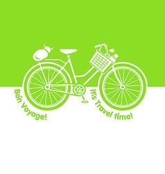 Picnic bicycle vector