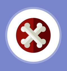 bones icon sign symbol vector image