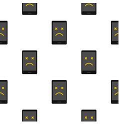 Dead phone pattern seamless vector