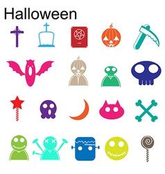 Halloween icon vector