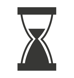 hour glass isolated icon design vector image