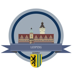 Leipzig vector image