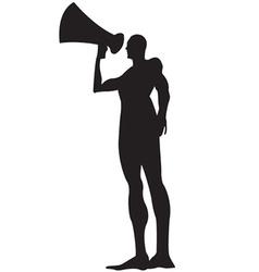 Loud speaker vector image
