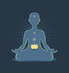 Meditation2 vector