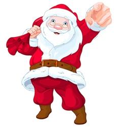Santa claus wants you vector