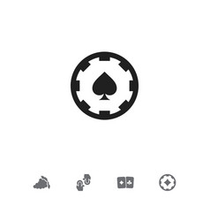 Set of 5 editable game icons includes symbols vector