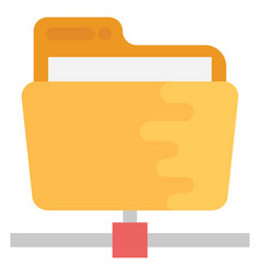 Shared folder vector