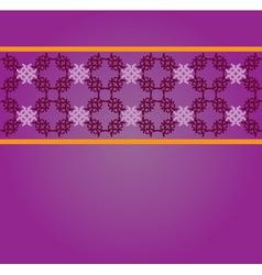 Vintage floral lace pattern2 vector image
