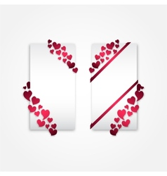 Valentines-cards vector image vector image
