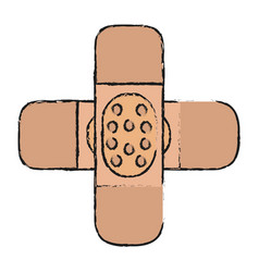 adhesive bandage icon image vector image