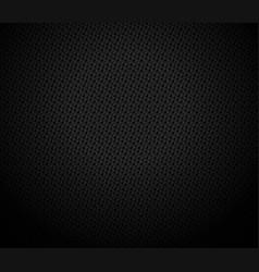 Dark black geometric grid background design vector