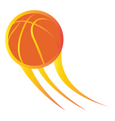 Isolated basketball stamp vector