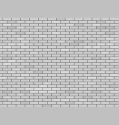 Modern white blank brick wall vector