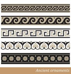 Old greek ornament vector image