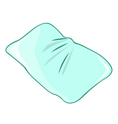 pillow isolated vector image