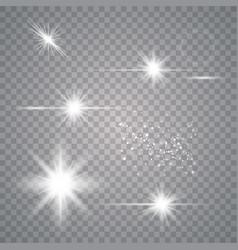 set light effects vector image