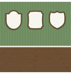 wall plaques vector image