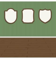 Wall plaques vector