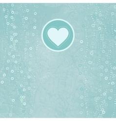 Retro Valentines Card Background vector image vector image
