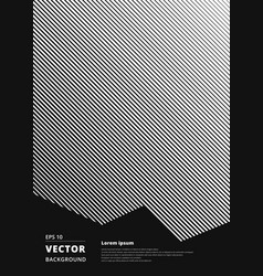 diagonal lines white pattern seamless texture vector image vector image