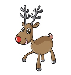 a reindeer vector image