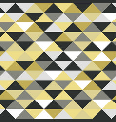 abstract seamles metallic pattern vector image