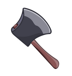 Axe isolated vector