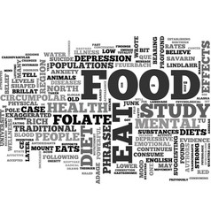 believe it you are what you eat text word cloud vector image
