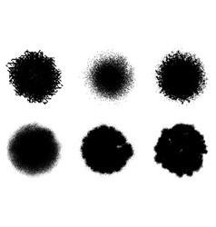 circular stamp set vector image