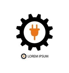 Energy industry logo vector