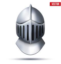 Knight Helmet vector image