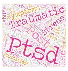 Post Traumatic Stress Disorder Rape and Sexual vector