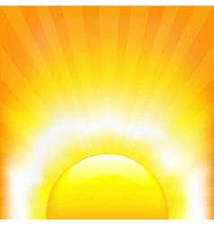 Shining Sun vector