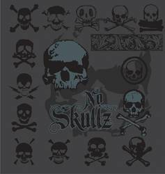 skull-icons vector image