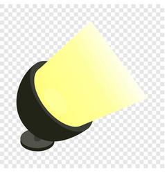spotlight isometric icon vector image