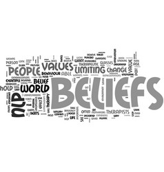 believe you can text word cloud concept vector image