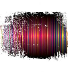 gothic patch rainbow vector image vector image