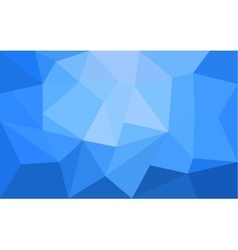 Abstract Blue Triangle Geometrical Background vector image