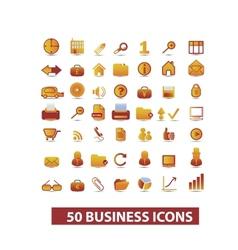 business presentation icons set vector image
