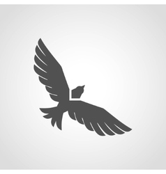 Flying Eagle Icon vector image vector image