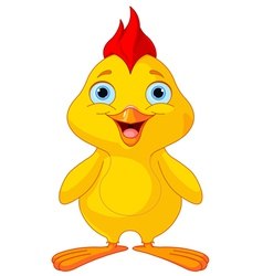 Funny Chick vector image vector image