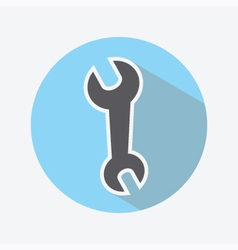 Wrench Color Icon vector image