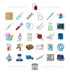 Medicine health medicine and other web icon in vector