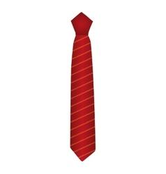 neckltie tie male icon vector image